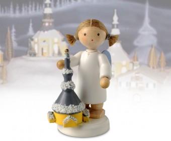 FLADE-Engel mit Seiffener Kirche