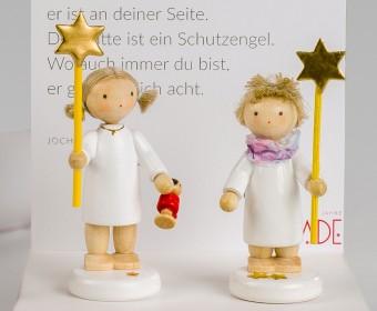 FLADE Engel mit Stern und Puppe