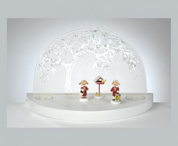 FLADE-GlÑserner Bogen Apfelbaum Winter