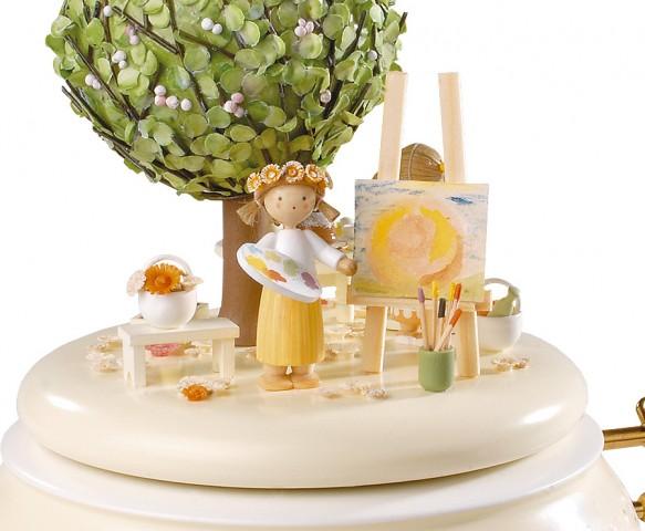FLADE-Spieldose Apfelbaum im FrÅhling