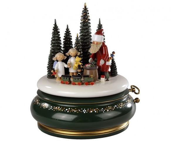FLADE-Spieldose Der Weihnachtsmann kommt