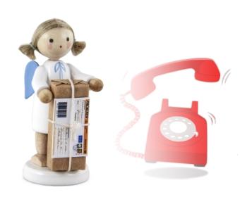 FLADE - per Telefon