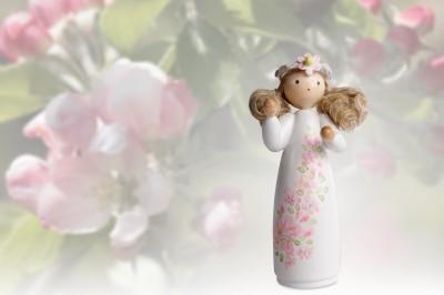FLADE Jahresfigur 2017 - Mädchen aus dem Apfelbaum
