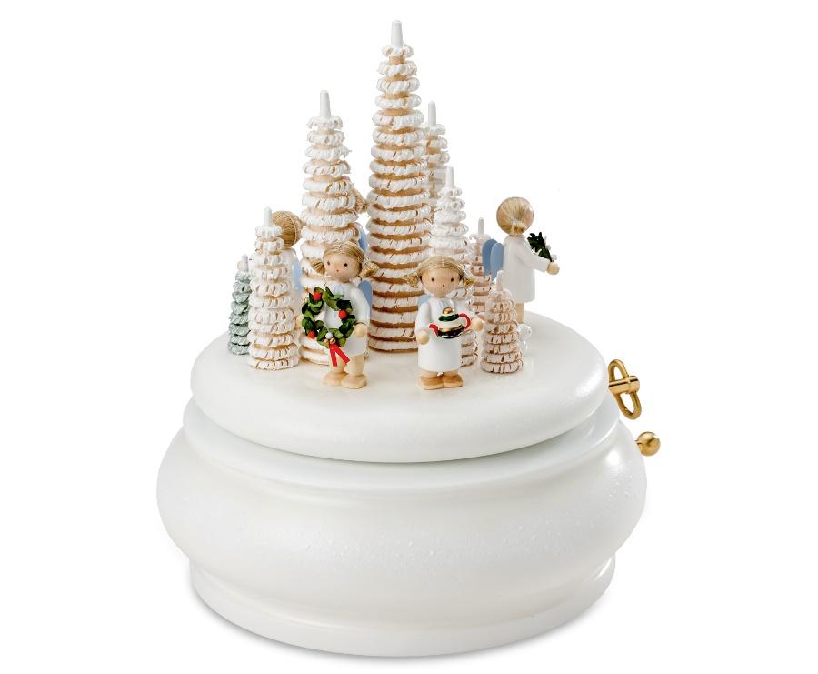 2019 Weiße Weihnachten.Spieldose Weiße Weihnachten Flade